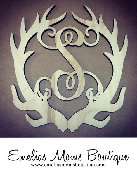 Single Antler Initial