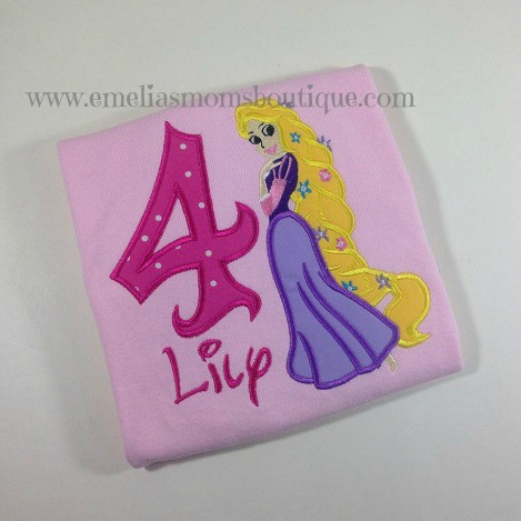 Rapunzel Pink