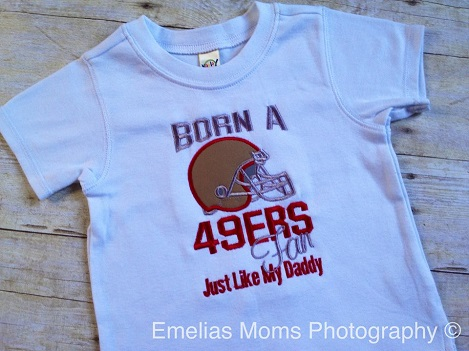 Born a 49ers fan