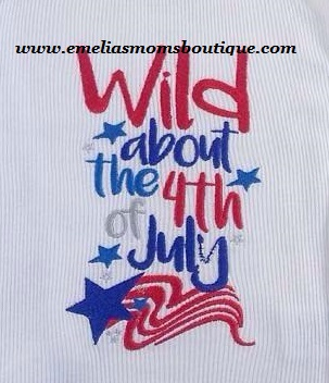 Wild about the 4th of July