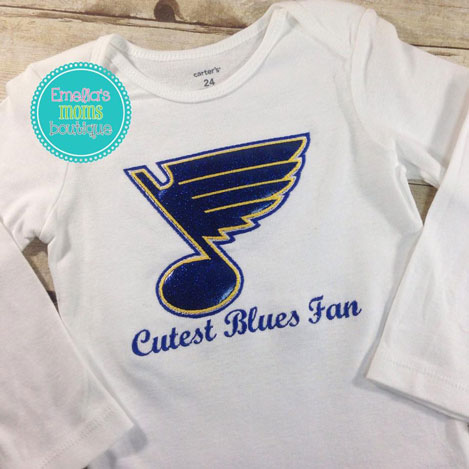 Cutest Blues Fan
