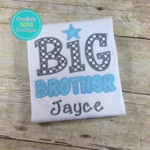 Big Brother Boys Star Shirt