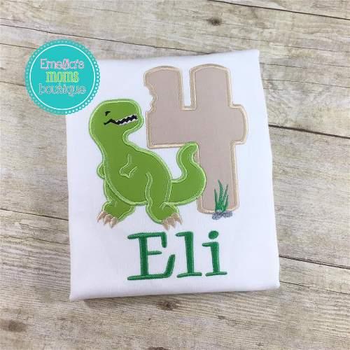 Green Dinosaur Birthday