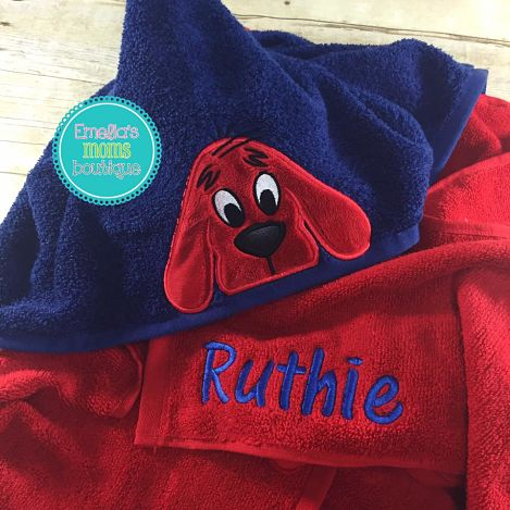 Clifford Hooded Towel