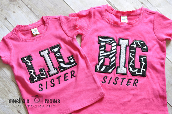 BIG SISTER SIBLING SHIRTS