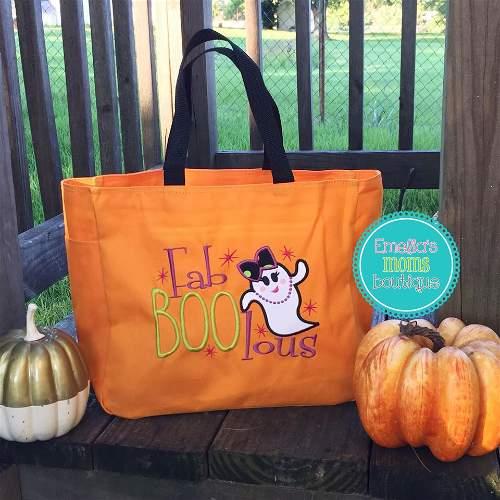Fab-BOO-Lous Halloween Candy Bag