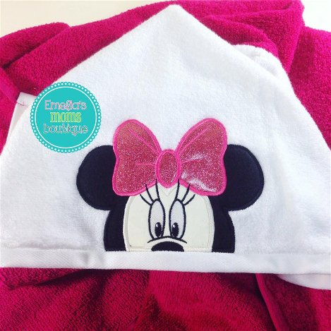 Pink Minnie Towel