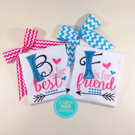 Best Friends Glitter Set