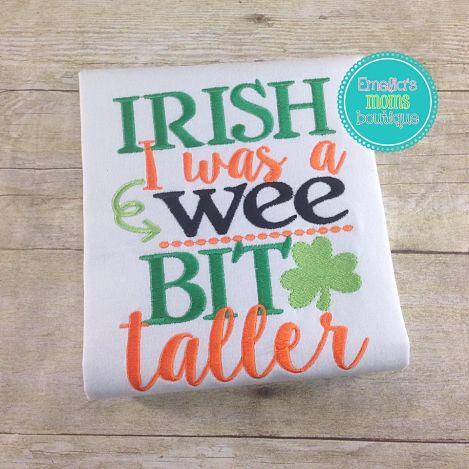 Irish Taller