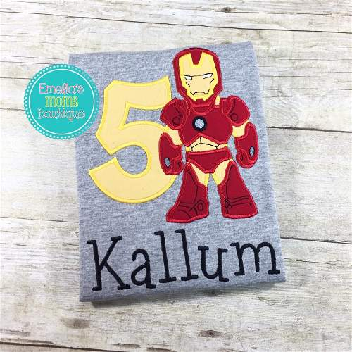 Ironman Superhero Birthday
