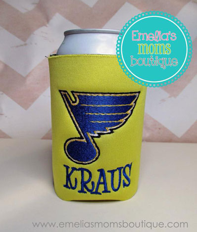 Blues Koozie