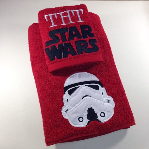 Starwars towel set