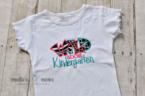WILD about Kindergarten (White)