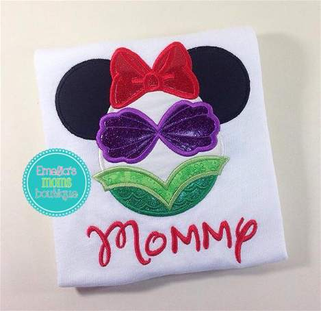 Ariel Mouse Ears Vacation Shirt