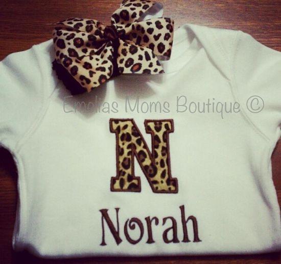 Cheetah Print Monogram Shirt