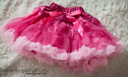 Bright Pink and White Pettiskirt