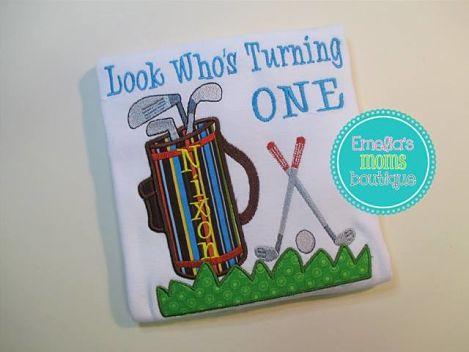 Golfing Birthday