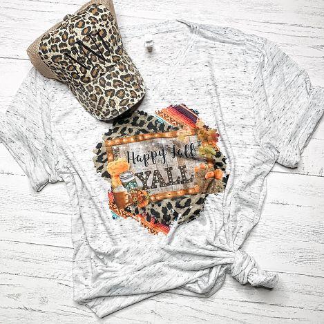Fall Y'all Leopard