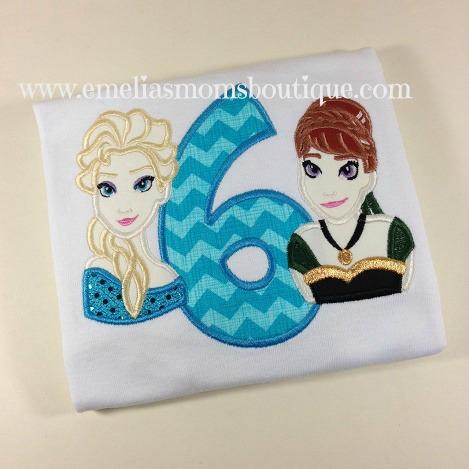 Elsa & Anna Birthday