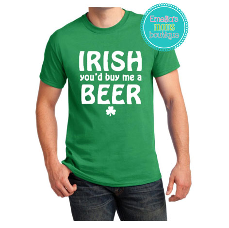 Irish you'd