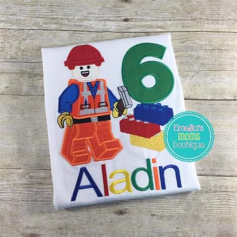 Legoman Birthday