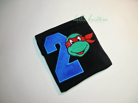 TMNT Birthday  sytle 1