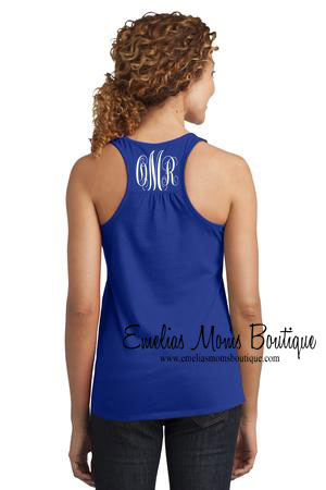 Womens Racer-back tank