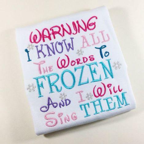 Warning I Sing