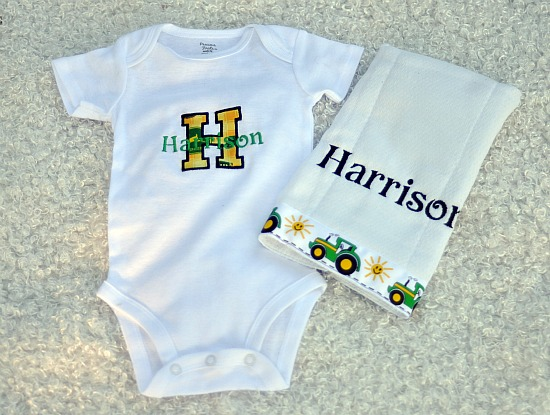 John Deere Applique Set