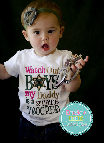 Daddy's a State Trooper Shirt